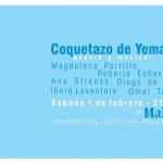 Coquetazo de Yemanjá. Poesía en la playa