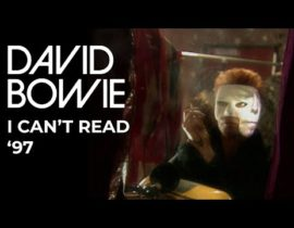 Official video for I Can't Read '97 by David Bowie.