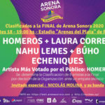 FINAL de ARENA SONORA con NICOLÁS MOLINA como invitado especia