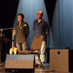 Fernando Cabrera y Jorge Fandermole en Teatro Solís