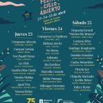 Festival Cielo Abierto: 23 al 25 de abril