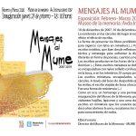 MENSAJES AL MUME. Museo de la Memoria, jueves 27 de febrero