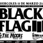 BLACK FLAG en Uruguay – Miercoles 11 de Marzo 2020