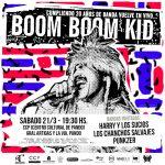 BOOM BOOM KID (Arg) en Pando – Uruguay