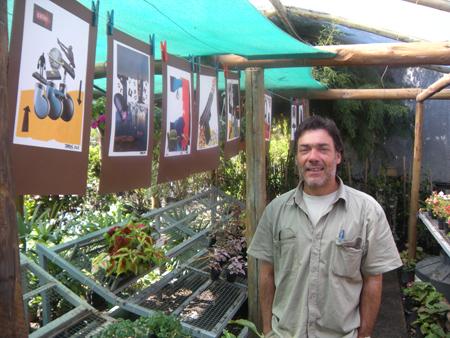 Espacio Antoni Miró en VIVERO MONTES de La Floresta
