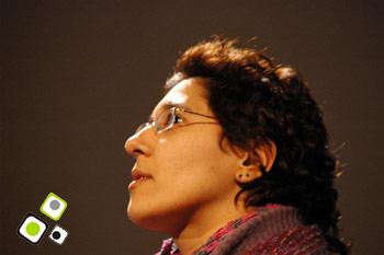 Virginia Lucas en Festival ñ - Teatro Solís - Agosto 2010 - Foto: Federico Meneses