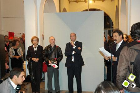 Entrega del premio a Jorge F. Soto en la IX Bienal de Salto 2011 - Foto: Federico Meneses