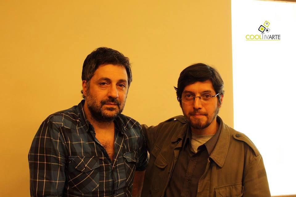 imagen - Garo Arakelian con paulo roddel - foto Juan Fielitz