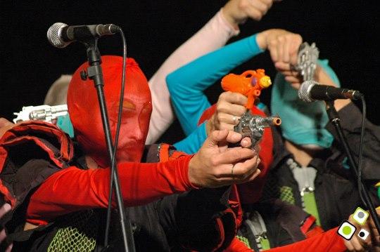 imagen - Carlos Quintana y banda - Alejandro Balbis y banda - Grabación de La Mojigata 2010 Fotos © Federico Meneses