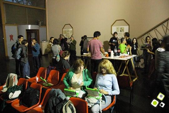 imagen - Artistas se reúnen para explorar y crean en el miniJAM organizado por ceibalJAM - Abril 2010 Fotos © Federico Meneses