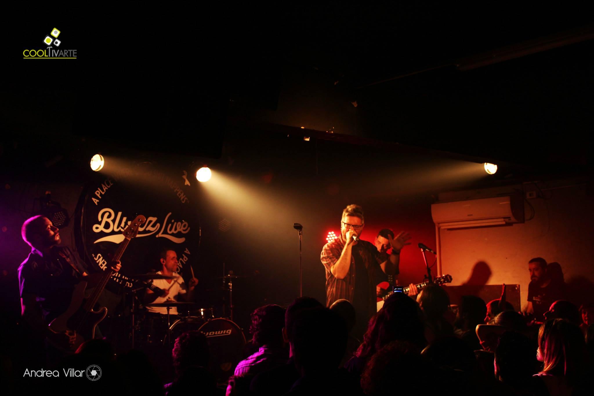 imagen - El Resto de Nosotros - 6 Nov. 2014 - Bluzz Live © Andrea Villar