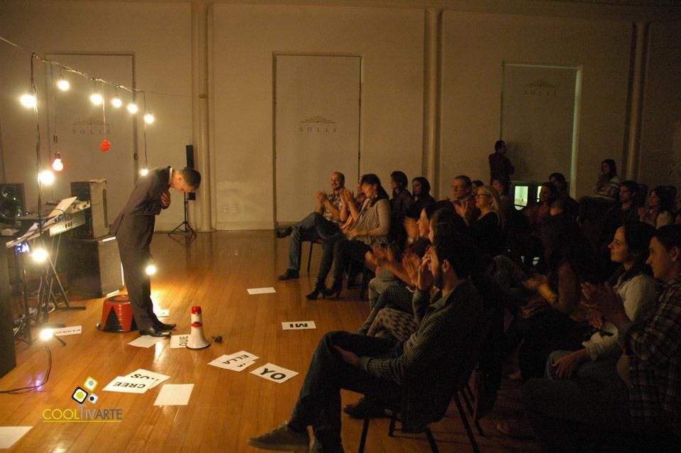 imagen - RICHIERI SOLO en el Solís / Palabra, Show & Poesía - Mayo 2013 © Federico Meneses