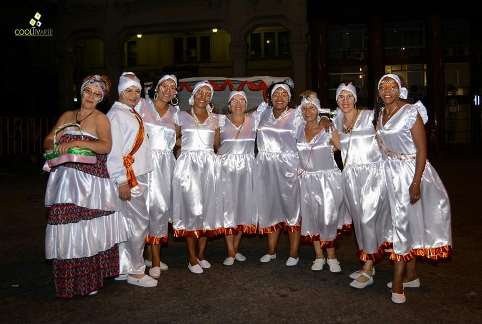imagen - Urusamba en desfile de Carnaval de Uruguay 2015 Fotos © Daniela Hernández