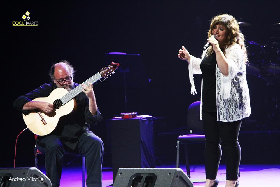 imagen - LEA BENSASSON - Opening Martinho Da Vila - 7 FEB. 2015 – AUDITORIO ADELA RETA - FOTO © Andrea Villar