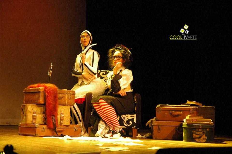 imagen - La escritora de comedias ¿de qué te reís? de Jimena Márquez - Teatro del Notariado - Agosto 2013 © Federico Meneses
