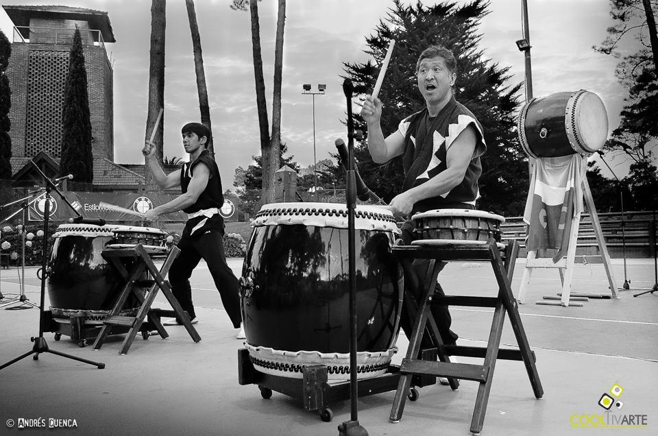 imagen - Percusión japonesa en Punta del Este - Febrero 2015 - Punta del Este - Fotos: Andrés Cuenca
