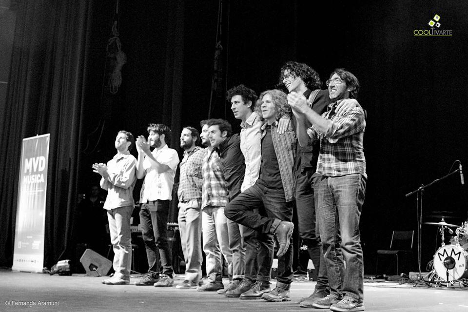 imagen - Mushi Mushi Orquesta y Ojos del Cielo llenaron de música El Galpón - Marzo 2015 Foto: Fernanda Aramuni