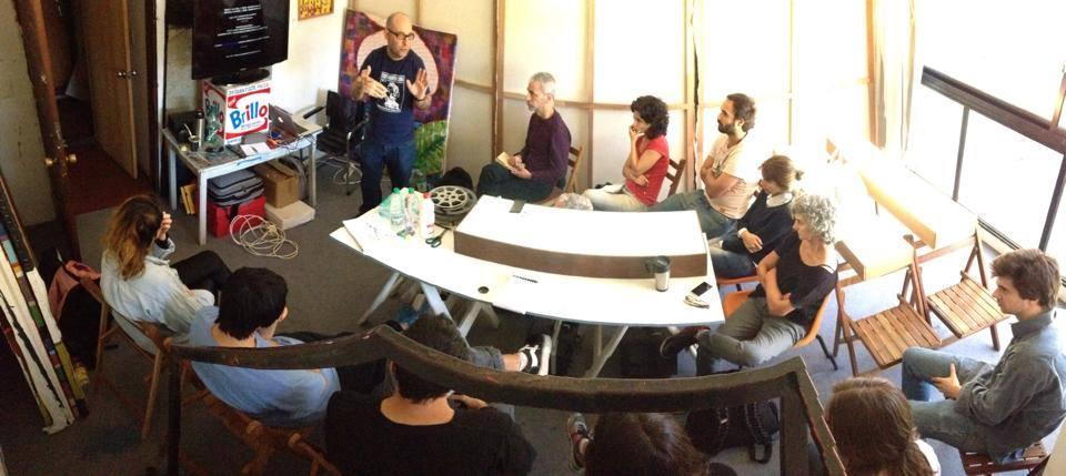 imagen - workshop con Antoni Pinent - Fuente: Fundacion de Arte Contemporáneo