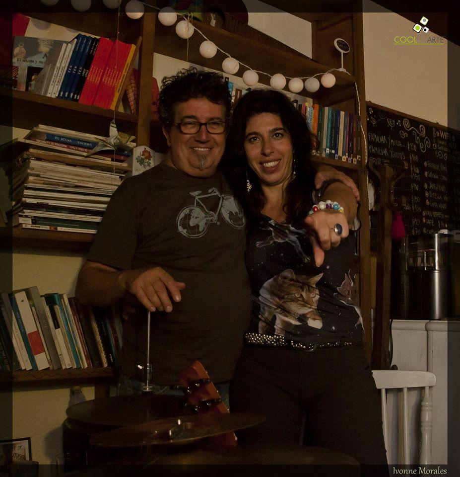 imagen - MINIMALmambo Rossana Taddei/Gustavo Etchenique en Lalá café con libros - Jueves 16 de Abril 2015 - Foto © Ivonne Morales