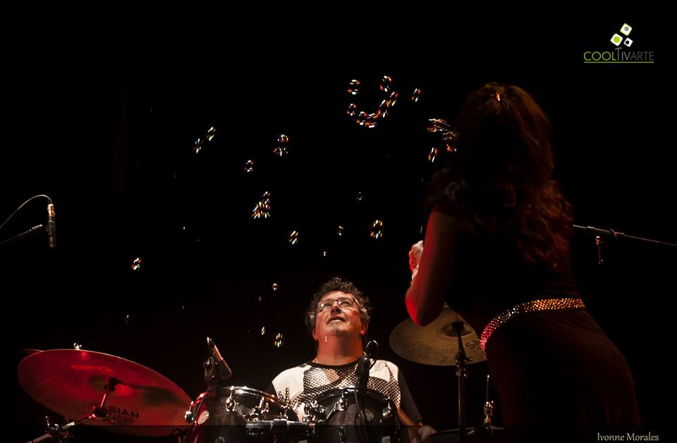 imagen - José Soba & Banda/Rossana Taddei MINIMALmambo 1º/4/2015 Sala Zitarrosa Foto © Yvonne Morales