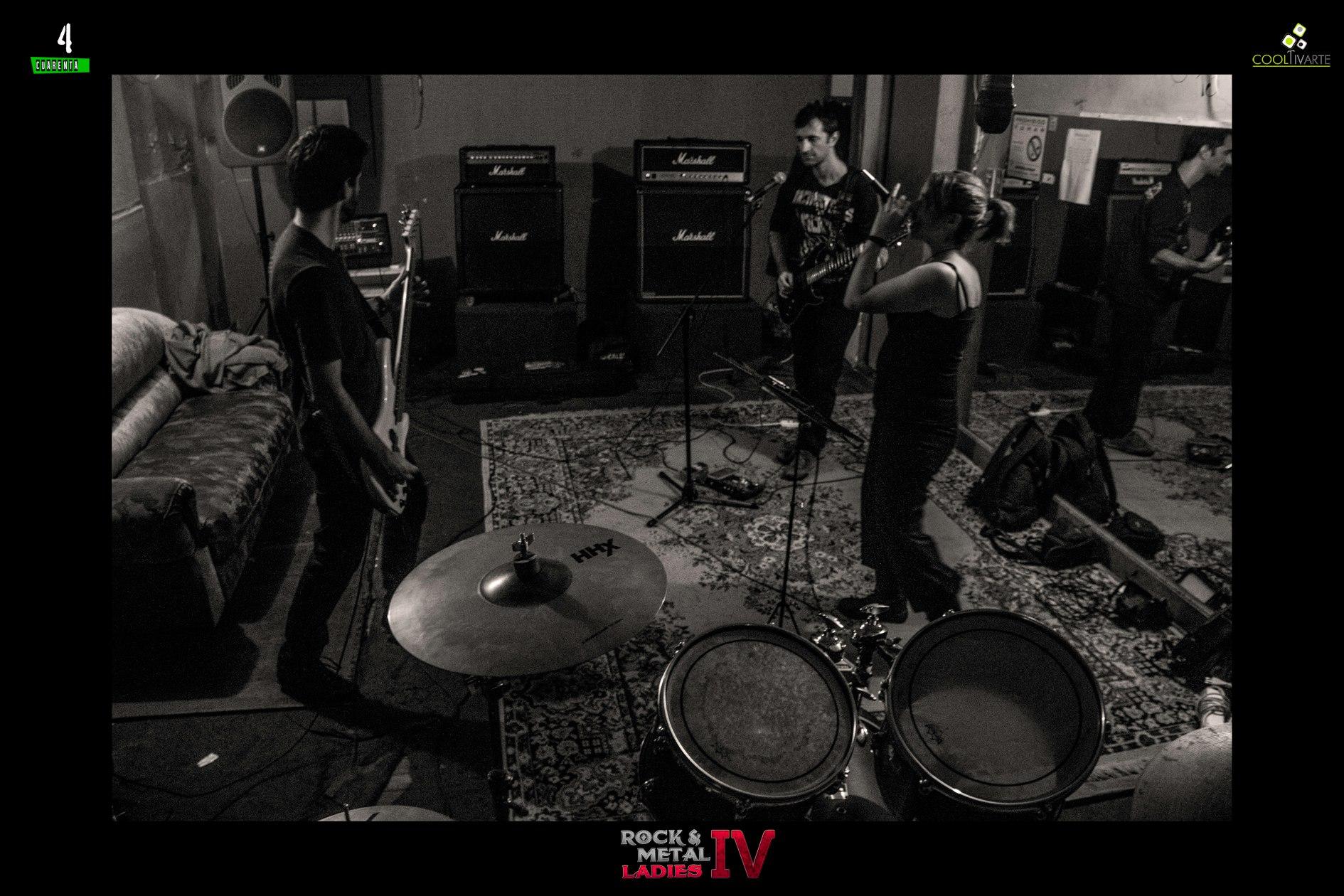 imagen - Rock & Metal Ladies IV de ensayo foto Javier Rivero