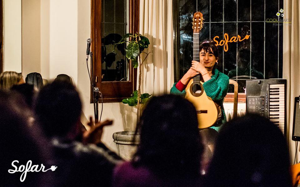 imagen - Sofar Sounds Montevideo, songs from a room. Tocaron Maca Mona Mu, Mountain Castles y Vincent Vega. 20 de Junio 2015 - Foto © Javier Fuentes