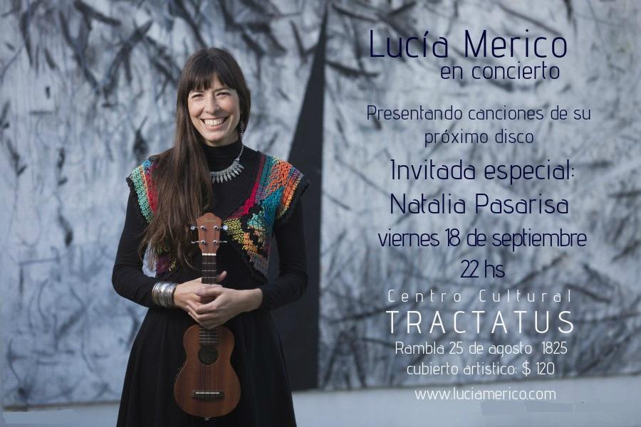 Afiche Lucía Merico
