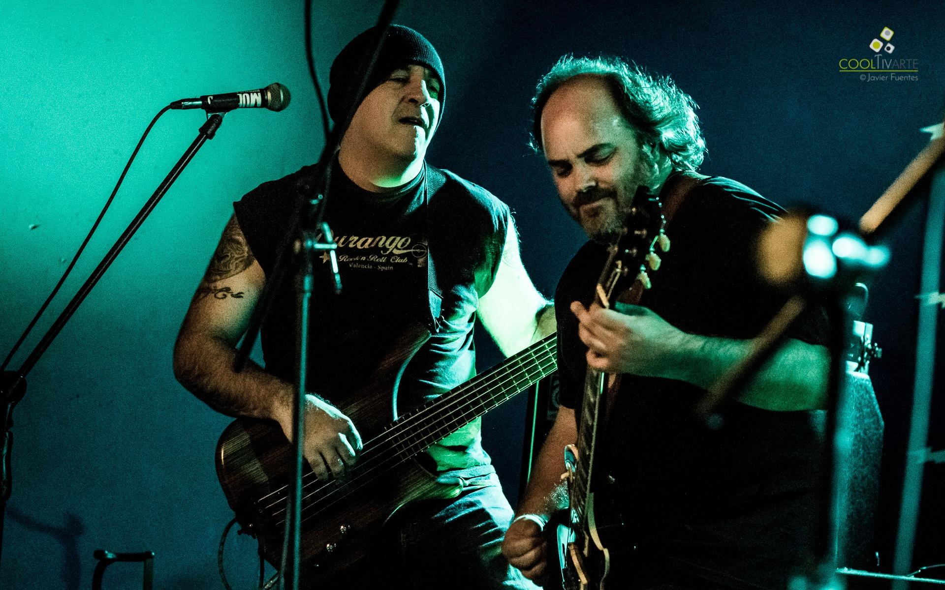 cooltivarte - La Triple Nelson en Bluzz Live Montevideo. 4 de Septiembre 2015 - Foto © Javier Fuentes