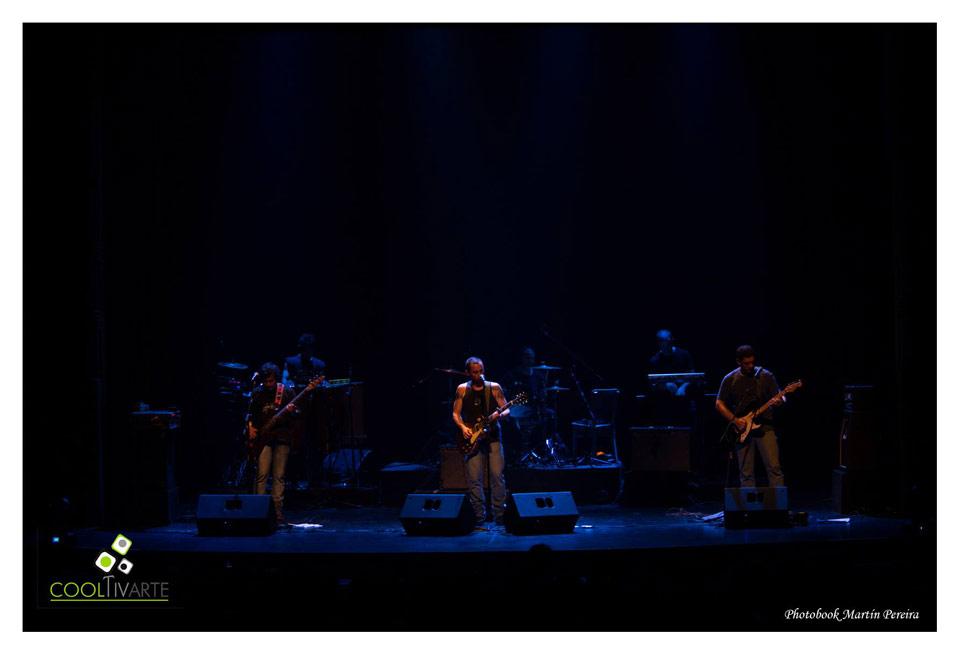 Mandabrasa presenta alto Astral + Ernesto Díaz y banda - Sala Zitarrosa Foto © Martín Pereira
