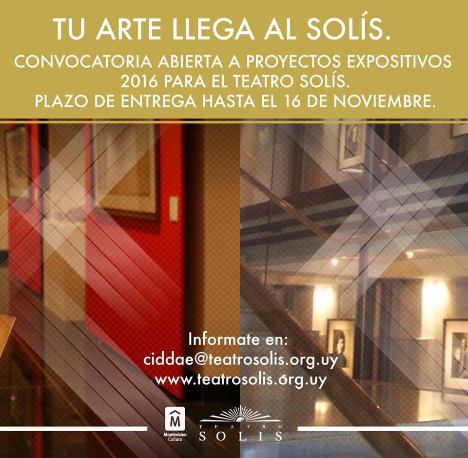 Convocatoria para Sala de Exposiciones y Fotogalería