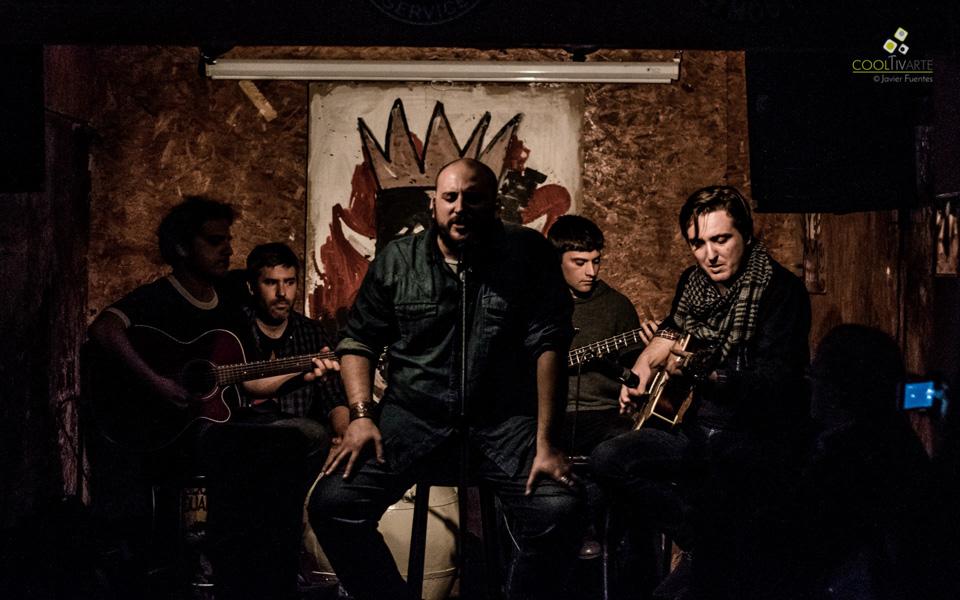 Lugosi en el Solitario Juan, presentando nuevo material. 7 de Octubre de 2015. Foto © Javier Fuentes