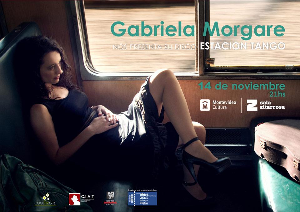 GABRIELA MORGARE presenta 'Estación tango'