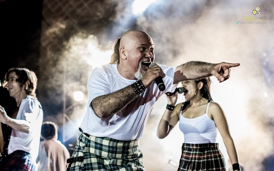 La Tabaré celebrando sus 30 Años en el Teatro de Verano - Parque Rodó. 14 de Noviembre de 2015. Foto © Javier Fuentes Photography