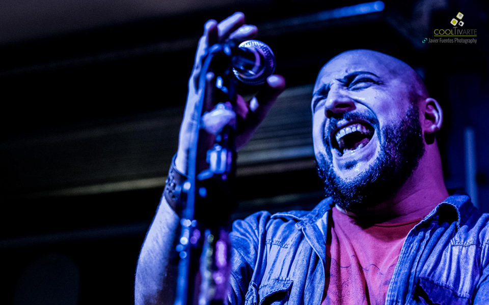 Lugosi en Bluzz Bar Montevideo 21 de Noviembre de 2015 - Foto © Javier Fuentes Photography