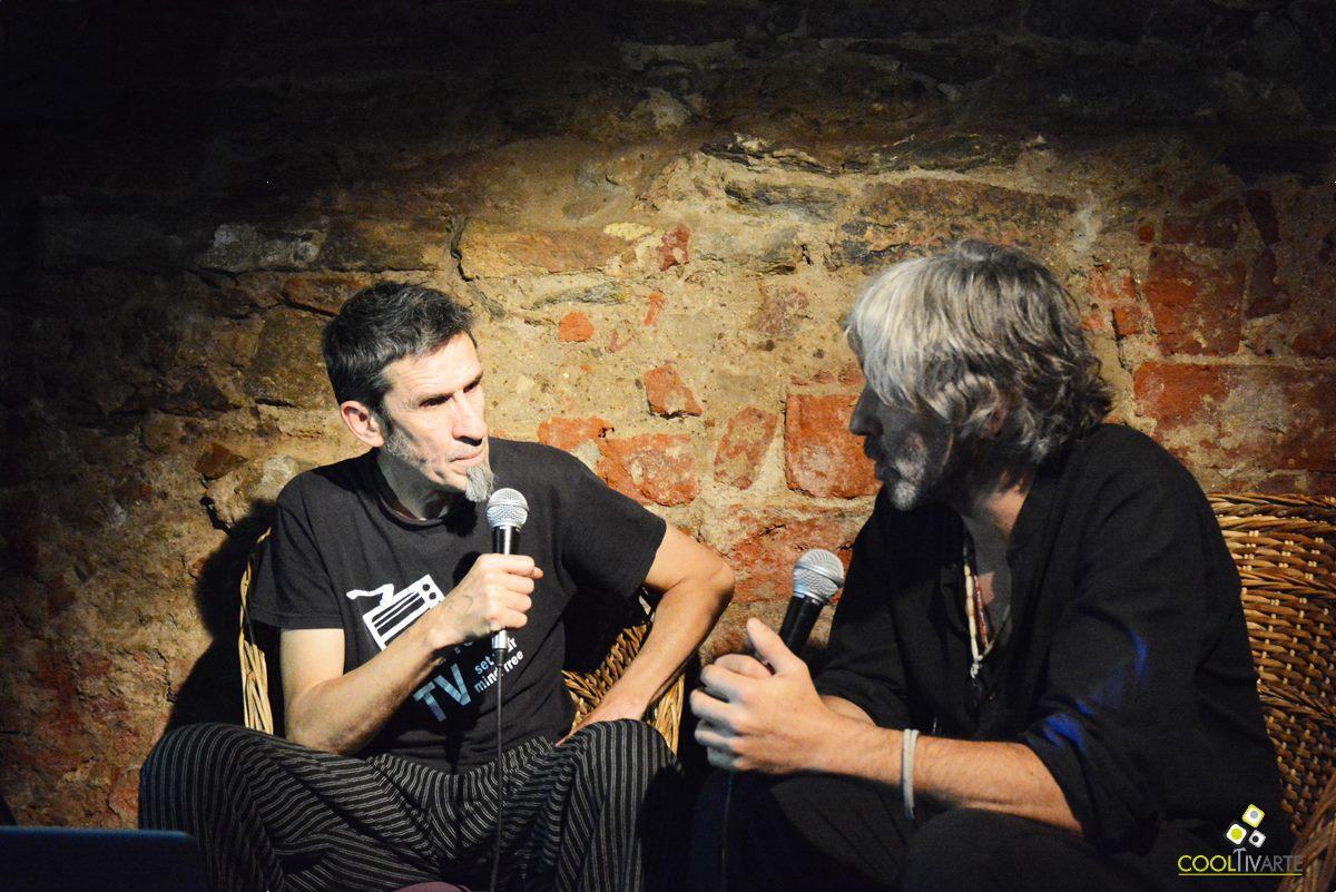 Luis Bravo y Claudio Taddei en La Cueva del Perro y la música de Pelo de Perro - Kalima Boliche - 22 de noviembre 2015 Foto © Federico Meneses