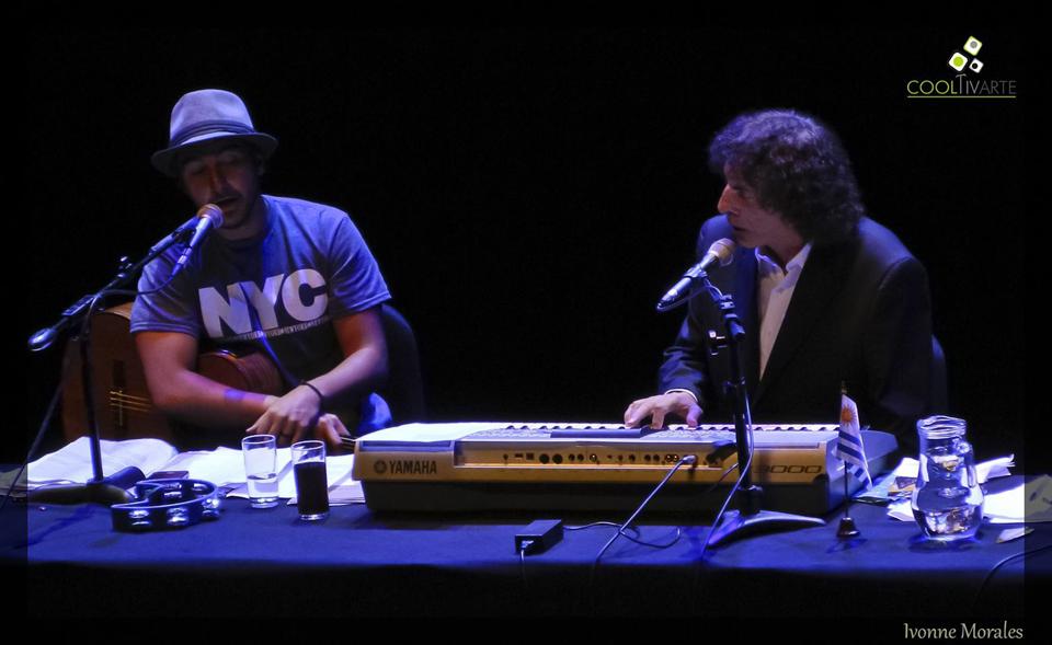 Alejandro Dolina en Montevideo 22 de Febrero 2016 Auditorio Nacional del Sodre Foto Ivonne Morales