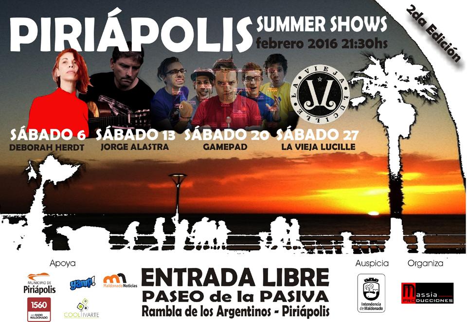 PIRIÁPOLIS SUMMER SHOWS 2
