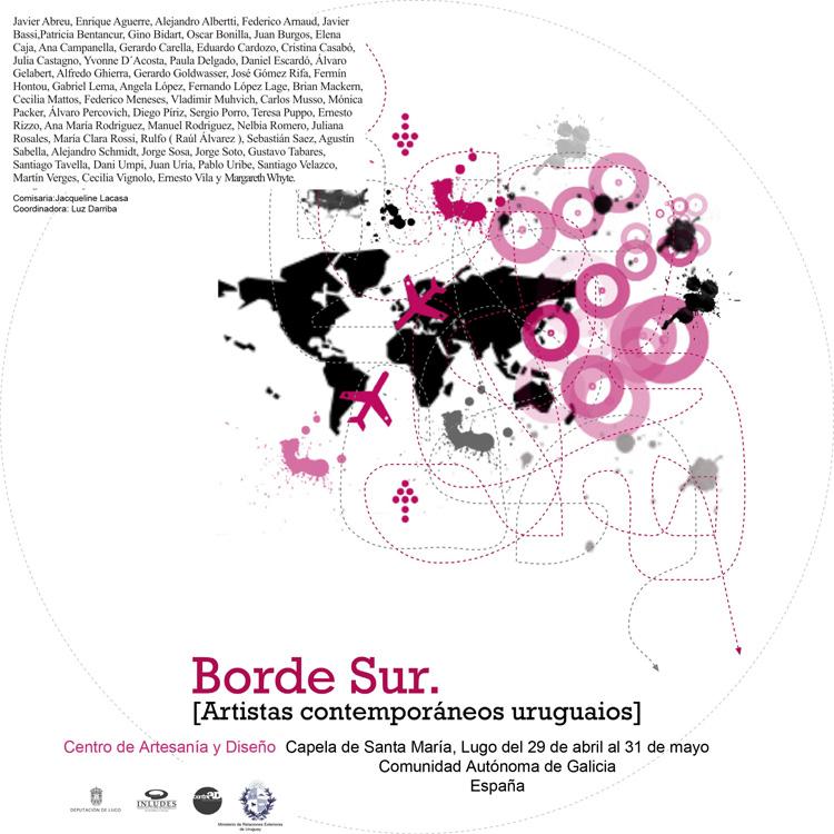 borde sur - Artistas contemporáneos uruguayos