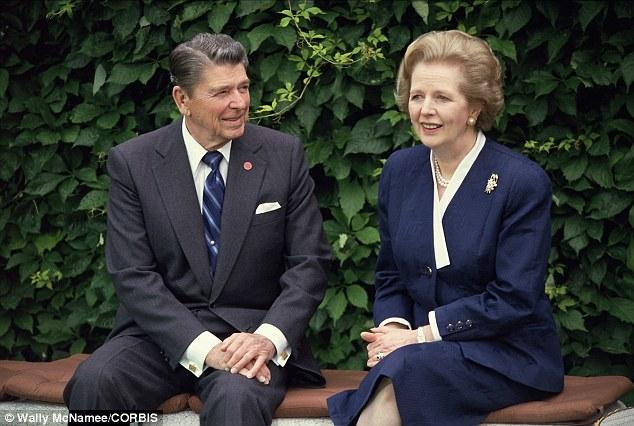 Reagan y Thatcher