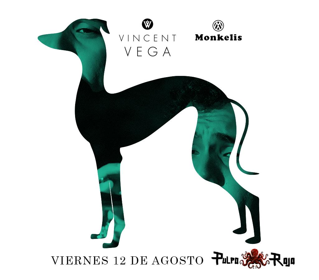 Vincent Vega y Monkelis en el Pulpo Rojo