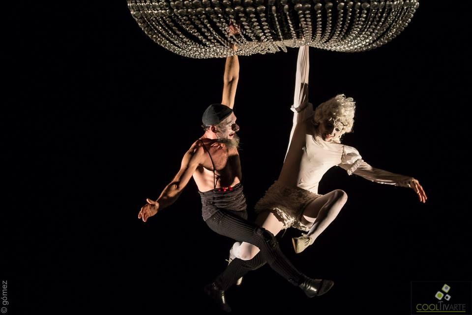 """""""Concert pour deux clowns"""" en el marco del Festival Internacional de Circo / FIC. Montevideo, 16 de setiembre de 2016. © Ricardo Gómez."""