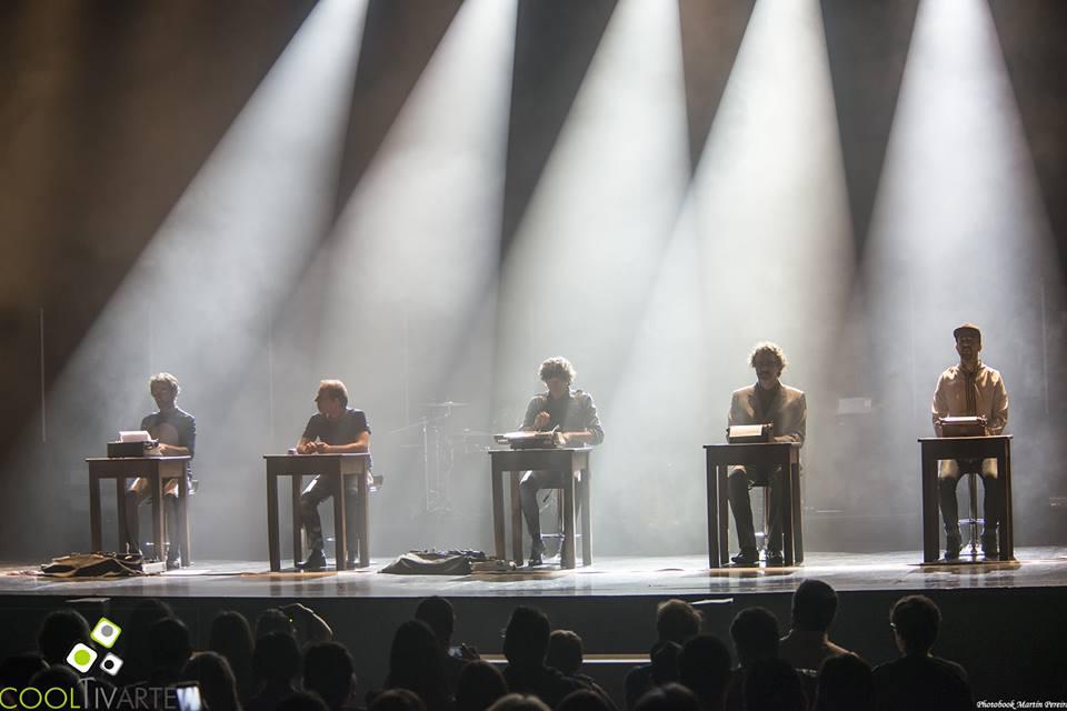 Cuarteto de Nos - Habla tu espejo auditorio del sodre - noviembre 2016 - foto martin pereira