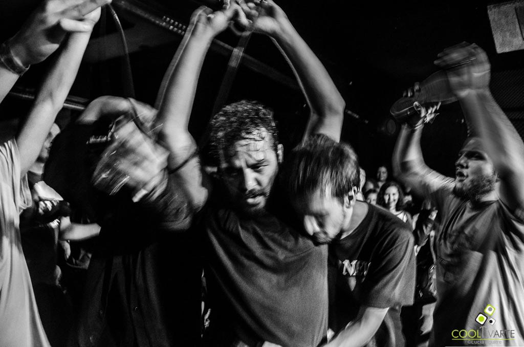 ETÉ Y LOS PROBLEMS banda invitada - COKI y THE KILLER BURRITOS - Bluzz Live - 29-OCT-2016 - foto Lucía Aguirre