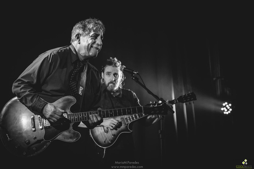 Chris Cain (USA) & Chapital Grooving The Blues con Juan Pablo Chapital en Sala Camacuá / AEBU Foto María Magdalena Paredes