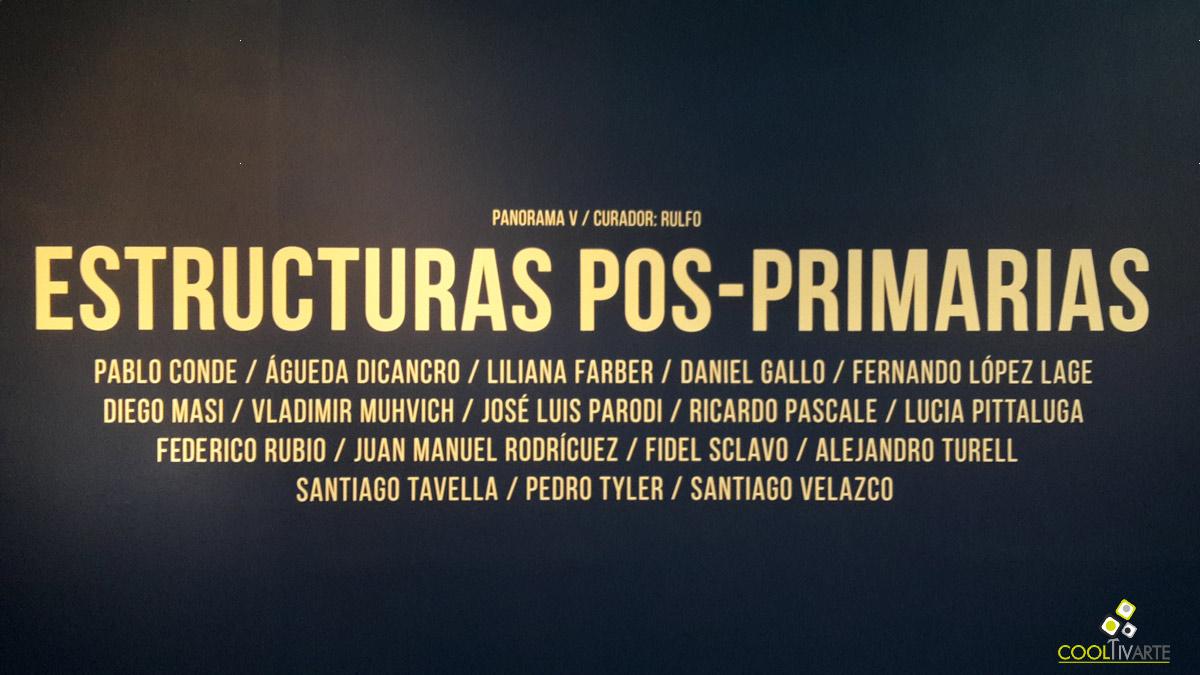 Estructuras pos - primarias Colectiva - Centro de exposiciones Subte - Mayo 2017 - Foto de móvil © Federico Meneses