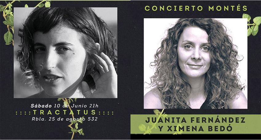 Juanita Fernández y Ximena Bedó
