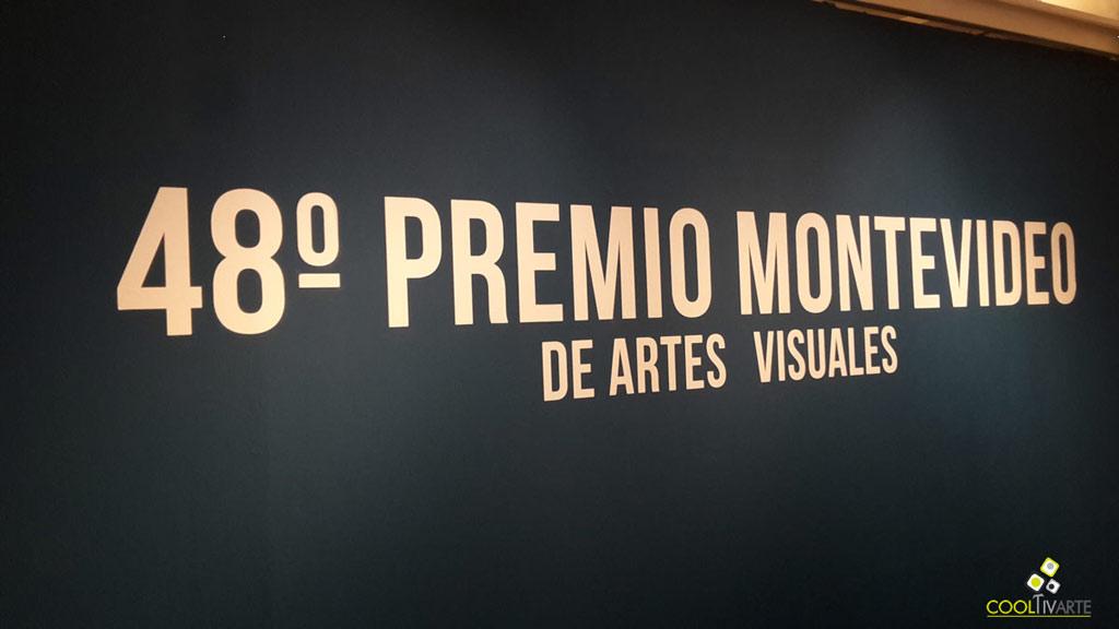 48º Premio Montevideo de Artes Visuales - Agosto 2017 - Centro de exposiciones Subte - Foto tomada de celular © Federico Meneses