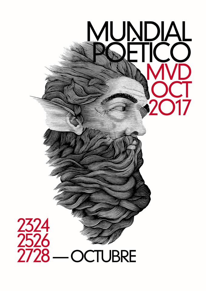 Mundial Poético de Montevideo 2017 será realizado del 23 al 28 de octubre 2017