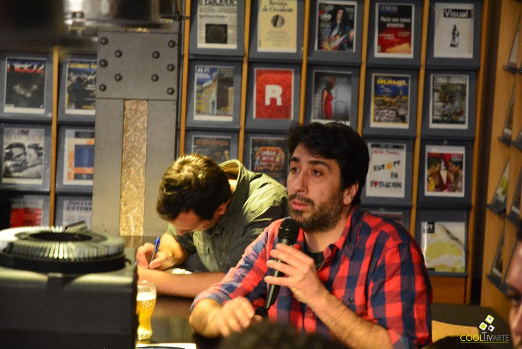 Presentación de la publicación Brlantida de Diego Vidart - Centro Cultural de España CCE - 13 de setiembre de 2017 - Foto © Federico Meneses
