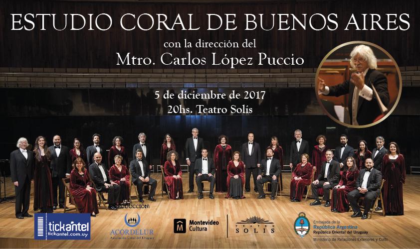 Estudio Coral de Bs As dirigido por Carlos López Puccio